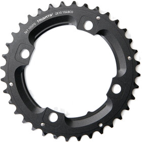 SRAM MTB Chainring 2x10-fold without pin black